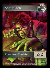 SCG Sam Black Zombie Token 2/2 - Star City Games MTG Magic the Gathering
