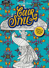 Adult Coloring Book - Color in Style - NEW -
