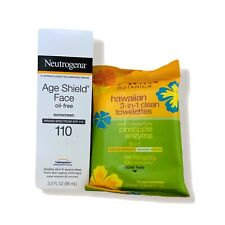Neutrogena Age Shield Face Oil-Free Lotion Sunscreen Broad Spectrum SPF 110