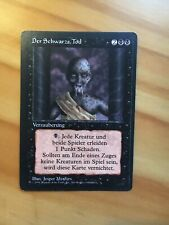 Magic Limited Black Bordered German Beta FBB Forei La mort noire pestilence