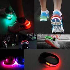 Sport LED Flashing Shoe Safety Light Clip for Night Runner Joggers Walkers Biker
