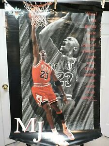 Michael Jordan Poster NBA Jam Session 35 x 23 1993