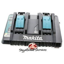 Makita DC18RD 18V de litio-ion Cargador óptimo rápido de doble puerto