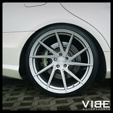 """19"""" STANCE SF01 SILVER FORGED CONCAVE WHEELS RIMS FITS MERCEDES W220 S430 S500"""