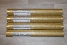 Zoffany Wallpaper  'MOUSSEUX' - 4 Rolls - GOLD ZPRM311759 NEW AND UNOPENED