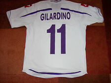 2009 2010 Fiorentina Gilardino Medium Away Football Shirt Italy Maglia