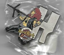 "2001 Memphis Hard Rock Cafe 30th Anniversary ""H"" Pin"