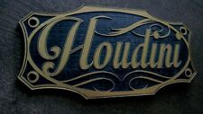Custom Houdini Trunk Badge Plate Prop Magic Spook Show Spookshow Harry