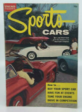 1956 SPORTS CAR GUIDE CORVETTE PORSCHE FERRARI VW JAGUAR AC AUTO RACING SCCA VTG