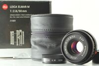 [Almost Unused in Box ] Leica Elmar-M 50mm f/2.8 E39 Black M Mount Lens Japan