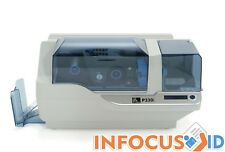 Refurbished Zebra P330i Plastic ID Card Printer with Starter Pack