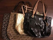 Lot Of 4 pre owned Michael Kors Handbags
