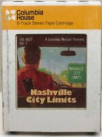 Nashville City Limits Vol.7 Columbia House 8-Track Stereo Tape Cartridge 1A16627