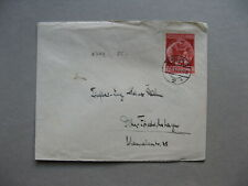 GERMANY REICH, cover 1940 single franking