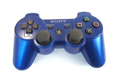 Genuine Sony Playstation 3 DualShock Sixaxis Wireless Controller Blue CECHZC2U