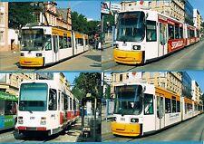 4 German Tram Strassenbahn Photos ~ MVG Mainz - Adtranz & Düwag Siemens - 2011
