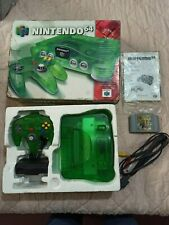 Nintendo 64 Console System Funtastic Jungle Green LIMITED ED Boxed Complete