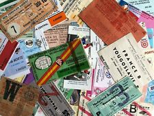 International Football Tickets/Entradas - Some Very Rare! *Choose From List*