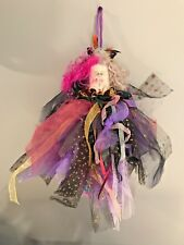 Vintage Doll, Textiles Galore WOW !!!!, Cloth, Folk Art, Whimsical, Wall Hanging