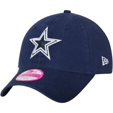 105493d347b  13.99 New. Dallas Cowboys Era NFL Women s Team Glisten 9twenty Ladies Navy  Blue Cap Hat