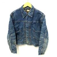 HERCULES Denim Work JKT1950'S Vintage Jacket Flannel Liner Plaid JP