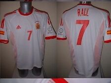 SPAGNA Espana Raul MAGLIA JERSEY FOOTBALL SOCCER ADIDAS adulto XXL REAL MADRID 2002