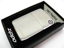 ZIPPO Full Size BLACK ICE Finish 1941 Replica Windproof Lighter 24485 New!