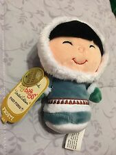 Hallmark FROSTY FRIENDS 2016 LIMITED EDITION Itty Bitty Plush Eskimo Doll
