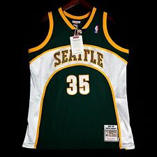 100% Authentic Kevin Durant Mitchell Ness Sonics NBA Jersey Size 48 XL Mens