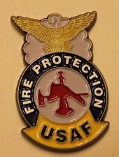 USAF Fire Protection Red Horse Andersen AFB Guam Air Force Challenge Coin