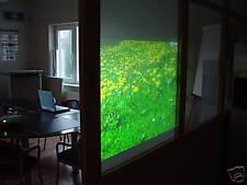 Projektionsfolie -  Rückprojektionsfolie auf Glas .