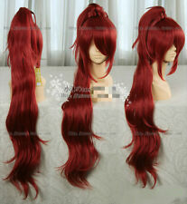 NEW ! Magical Girl small round Sakura apricots Red Tiger Clip Cosplay Wig