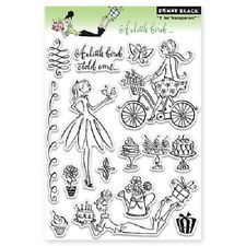 PENNY BLACK RUBBER STAMPS CLEAR A LITTLE BIRD NEW clear STAMP