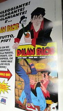 Dylan Dog FUORISERIE poster pubblicitario Dilan Blob Big Comics parodia n. 1