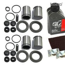 2x Pinza freno Set di riparazione + PISTONE ant. 48 mm per brembo-system