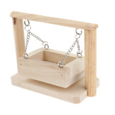 Hamster Habitat Accessories Wooden Toy Hamsters Climbing Basket Toy