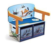 Delta Planes Wooden MDF 3 in 1 Bench Desk / Convertible Bench Desk Childrens