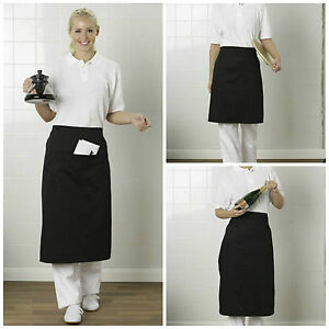 CO-OPERATIVE CLOTHING WAIST APRON WITH & WITHOUT POCKET RESTAURANT BISTRO BAR