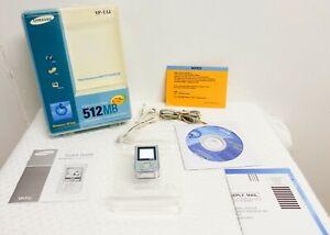 Samsung  MP3 Yepp YP-T7J Silver (512MB) Digital Media Player  Open Box