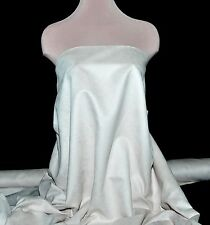 """FAUX SUEDE FABRIC 100% POLY, DOUBLE FACE, SOFT 60"""" BONE , CLOTHING"""