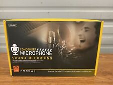Condenser Microphone Studio Pro Audio Internet Recording Kit