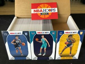 NBA Hoops 2020-21 Full Set With Key Rookies RC Lamelo Ball Edwards Wiseman