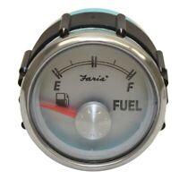 Faria Boat Fuel Gauge GP7911A | Maxum 2 Inch Silver