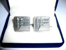 1972 Olympic Games Munich Original Cufflinks Munich Frauenkirche VERY RARE/NICE