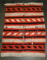Handsome Antique Navajo Indian Rug  - Classic Revival - 1930s