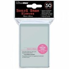 ULTRA PRO 50 SPECIAL SIZED BOARD GAME SLEEVES 54mm X 80mm