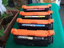 NO-OEM 650A set Toner CE270A CE271A CE272A CE273A to HP CP5525, M750.