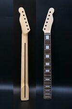 Tele Guitar Neck 22fret 25.5inch Maple Rosewood Fretboard Block Clear Coat
