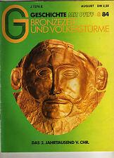 G Geschichte mit Pfiff 8/84 Bronzezeit + Völkerstürme