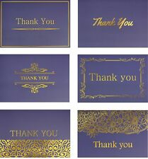 120 Highest Quality Elegant Thank You Cards with Envelopes and Stickers